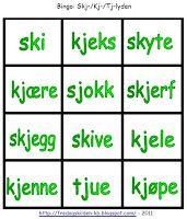 FredagsKilden: NORSK - Undervisningsmateriell 1-17 Bingo, Grammar, Barn, Education, Reading, School, Tips, First Grade, Converted Barn