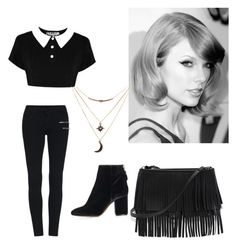 """Taylor Swift"" by lord-of-swagger on Polyvore featuring Topshop, White House Black Market and Charlotte Russe"