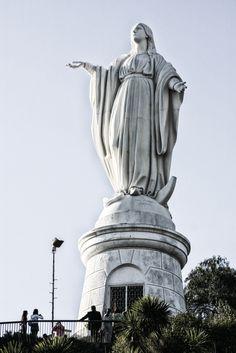Virgin Mary Santiago Chile