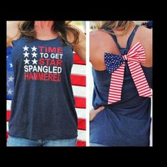 Top Sleeveless Blouse Casual Tank Tops Who's ready for the Fourth of July?!  I know I am. Fashion Women Summer Top Sleeveless Blouse Casual Tank Tops T-Shirt Fashion design,100% Brand New,high quality!  Material: Cotton Blend Color: White, Navy Style: Summer Casual Tops Size: S M L Let me know in comment what size is needed‼️ Tops Tank Tops