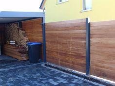 Bankirai  Sichtschutz Zaun Design by Sebastian Bohry