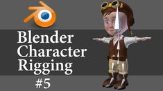Blender Character Rigging 5/10: Weighting Torso & Hand