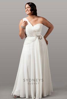 Brides.com: Designer Plus-Size Wedding Dresses We Love
