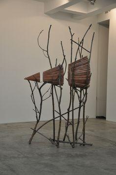 Giuseppe Penone (1947) une des figures de l'Arte povera - Ombra di terra (2000)
