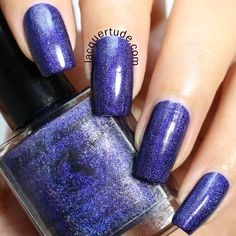 FUN Lacquer: Summer 2014 Holo Collection Swatches & Review   Lacquertude - Starry Night of the Summer