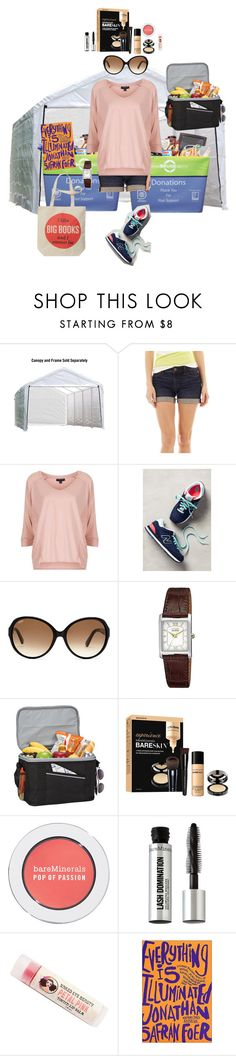 """8/27 (Afternoon)"" by mana-g ❤ liked on Polyvore featuring ShelterLogic, Goodwill, jcp, Topshop, New Balance, Tod's, Citizen, Goodhope Bags, Bare Escentuals and Nook"