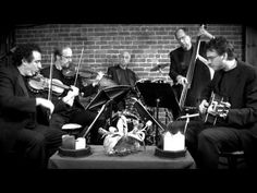 Black Canary Strings performing traditional classical selections featuring a combination of violins, guitar, upright bass and drums!