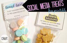 Social Media event planning {free printables} C.R.A.F.T.