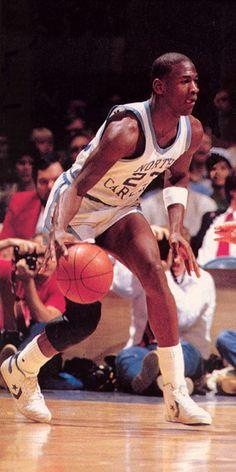 #MJ23 The early years @ North Carolina