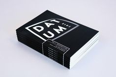 Datum by Luke Klenske, via Behance