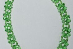 Free pattern for necklace Laurel