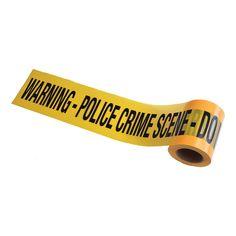 Police Crime Scene Avspärrningsband - Partykungen.se