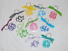 Personalized Acrylic Key Chain by limetreegifts on Etsy, $9.00