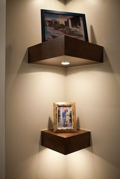 Картинки по запросу corner shelves decoration