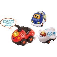 dfed2404551 Coffret de véhicules Trio vacances - Tut Tut bolides VTECH pas cher à prix  Auchan
