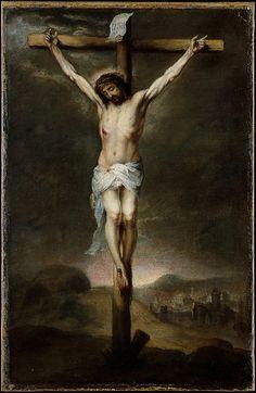 Bartolomé Estebán Murillo (Spanish, Seville 1617–1682 Seville)  The Crucifixion