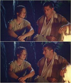 """1.07 """"The Moth"""" – KATE: So, these are the safe caves you've been going on about. JACK: This was a fluke. Michael checked out the integrity of the rest of the caves and gave them an okay. So, you're headin' back to the beach, huh? KATE: Sayid should be back there by now, and if his plan worked, then— JACK: Then we're one step closer to gettin' off this Island. [Kate looks down, thinking about that.] JACK: Thanks for the sling, Kate. KATE: You're welcome."""
