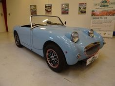 *SOLD* 1959 Austin-Healey Sprite Mark I (first generation)     Beautiful restored Austin-Healey Sprite Mark I with upgraded engine. The car was original from USA and imported to Denmark in 2007 and restored in 2007 and 2008 (please see restoration photos).     The car looks and drives fantastic with no cosmetic or mechanical issues. A car that can be enjoyed for many years to come. The car has Danish papers and registration.     Car Specification:  VIN: AN5L13442  Engine: 4-cyl. 1275cc…