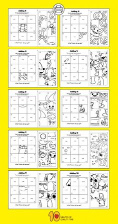 Addition Puzzle Worksheets Addition Worksheets for Kids Addition Worksheets, Kindergarten Math Worksheets, Math Addition, Maths Puzzles, Worksheets For Kids, Addition Games, Preschool Math Games, Math Activities, Math For Kids