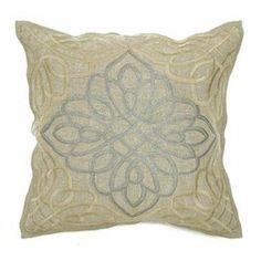 Modern Beige Throw Pillow   Accent Pillow   Silver Nest