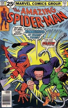 The Amazing Spider-Man #159 - August 1976
