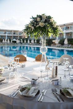 The perfect wedding scenery Wedding Events, Weddings, Crete, Perfect Wedding, Palace, Scenery, Table Decorations, Landscape, Wedding