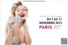 Salon de la Photo 2013 à Paris : c'est parti pour la 7ème édition. crédit affiche : Salon de la Photo.