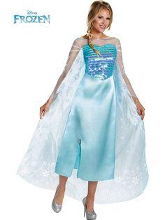 Disneyu0027s Frozen Elsa Deluxe Womens Costume