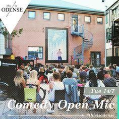 Kom til Open Mic i #Farvergården bag @StudenterhusOdense. Fri leg for sjove sjæle kl. 20:00-23:00. Læs anbefalingen på: http://www.thisisodense.dk/da/19445/open-mic