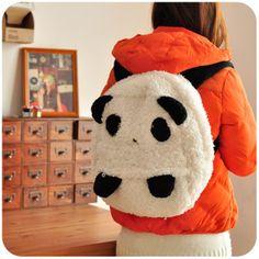 Panda backpack! #panda #cute #kawaii