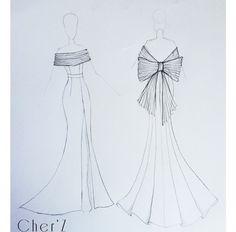 @thebohogypsy #thebohogypsy Dress Design Drawing, Dress Design Sketches, Fashion Design Sketchbook, Dress Drawing, Fashion Design Drawings, Fashion Sketches, Fashion Drawing Dresses, Fashion Illustration Dresses, Fashion Drawing Tutorial