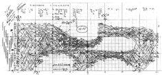 iannis xenakis. pithoprakta (1955-56), mesures 52-59. musique architecture, 1976 p.167
