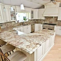Supreme Kitchen Remodeling Choosing Your New Kitchen Countertops Ideas. Mind Blowing Kitchen Remodeling Choosing Your New Kitchen Countertops Ideas. Refacing Kitchen Cabinets, Kitchen Countertop Materials, White Kitchen Cabinets, Kitchen Redo, Refinish Cabinets, Cabinet Refacing, Cabinet Ideas, Kitchen Worktops, Kitchen Ideas
