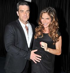 Robbie Williams and Ayda Field officially a parent.