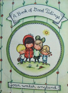 A Book of Good Tidings by Rose Red Cottage, via Flickr