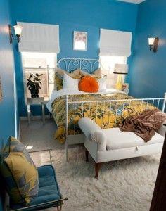 Blue Small Bedroom Design Decorating 236x300 Blue Small Bedroom Design Decorating