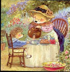 """Foxwood Tales"" This is one of the sweetest books ever. It is filled with lovely detailed pictures and the stories are as interesting as they are adorable!  ...  right up there with Brambly Hedge and Beatrix Potter."