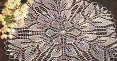 Kira knitting: Scheme knitted tablecloths 6