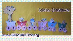 Mural Vogais A Girafa no Trenzinho e Sugestão de Aula | Ideia Criativa - Gi Barbosa Educação Infantil