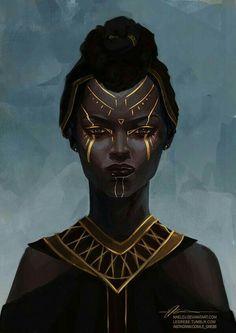 black art - Famous Last Words Black Art, Arte Black, Black Girl Art, Black Women Art, Art Girl, Inspiration Art, Character Inspiration, Fantasy Kunst, Fantasy Art
