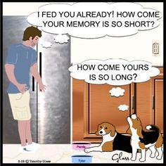 Sleepytown Beagles Comic Strip on GoComics.com