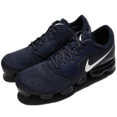 Nike Air Vapormax Mesh Thunder Blue White Men Running Shoes #shoes  Sneakers #sneakers  AH9046-401  Sponsored: ebay affiliates White Casual Shoes, Sneaker Dress Shoes, Shoes Sneakers, Nike Shoes, Nike Air Vapormax, Mens Running, Running Shoes For Men, Milan Fashion Weeks, Curvy Petite Fashion