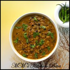MM's Kitchen Bites: Dal Amristsari or Maah Choleyan di Daal...or My Mommy's Dal