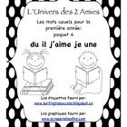 This package has been created to systematically teach sight words to beginner French Immersion students. It was created for use in our grade 1 cla. Grade 1 Sight Words, Sight Word Practice, Learning Support, Kids Learning, French For Beginners, French Immersion, Teaching French, Word Walls, Teaching Resources