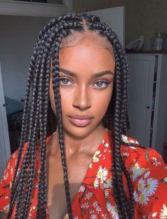 Black Girl Braided Hairstyles, Black Girl Braids, Girls Braids, Box Braids Hairstyles, Black Women Hairstyles, Cute Hairstyles, Latest Hairstyles, New Latest Hairstyle, 1950s Hairstyles
