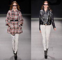 TNG 2014 Winter Southern Hemisphere Womens Runway Collection - Fashion Rio Brazil Moda Brasileira - Inverno 2014 Mulheres Desfiles - Punk Gr...