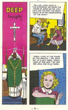 Catholic Comics from the 50s