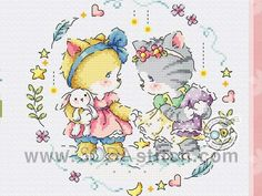 Soda, Cross Stitch, Embroidery, Comics, Art, Cats, Punto Cruz, Crossstitch, Needlework