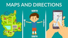 Cardinal Directions, Teaching Geography, Thematic Units, Fourth Grade, Grade 3, Life Skills, Geology, Kindergarten, Homeschool