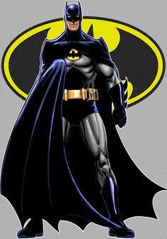 Batman Classic Variant by Thuddleston on DeviantArt Batman And Catwoman, Batman Dark, Im Batman, Batman The Dark Knight, Batman Robin, Batman Cartoon, Batman Poster, Batman Artwork, Batman Wallpaper